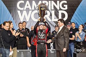 NASCAR Truck Rennbericht Erik Jones holt den Truck-Titel