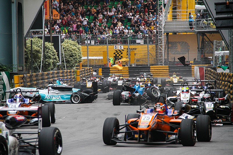 Juncadella passagier in dramatische Macau GP crash
