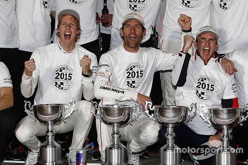 Уэббер в составе экипажа Porsche стал чемпионом мира