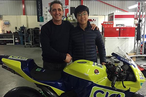 Il giapponese Okubo quarto pilota della Honda PTR