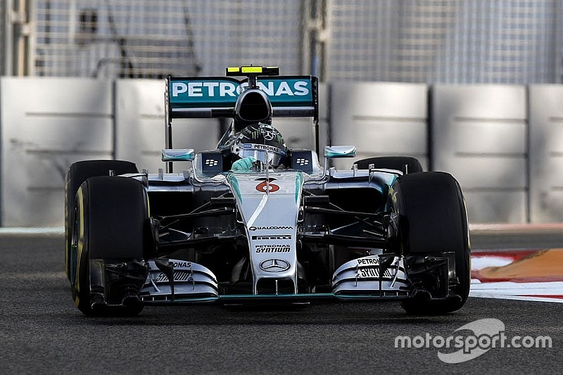 Record-breaking night for the Silver Arrows in Abu Dhabi!