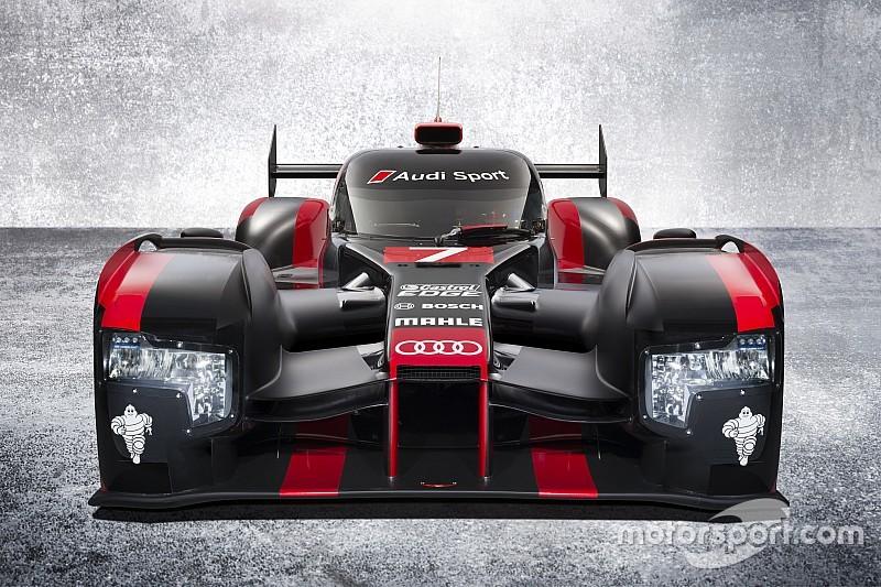 奥迪发布2016款LMP1赛车:R18 e-tron quattro RP6