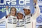 Officiel - Porsche confirme ses équipages pour 2016