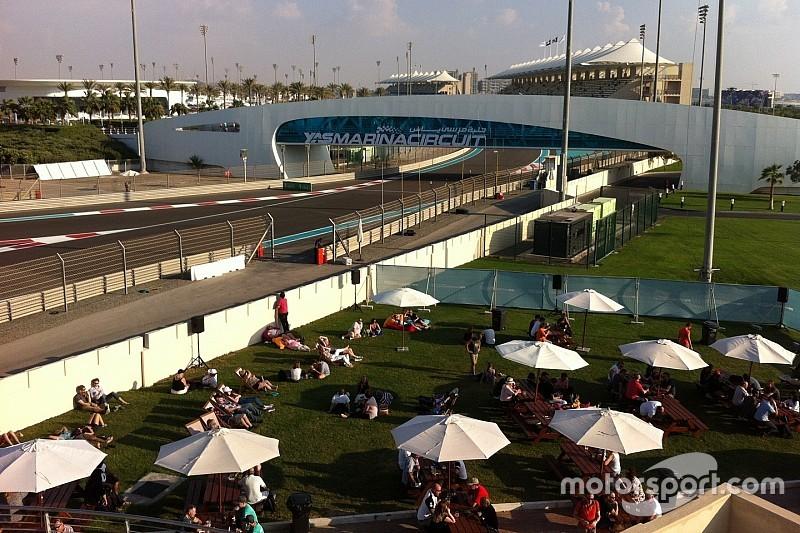 Luxo e álcool liberado: como fãs assistem à F1 em Abu Dhabi