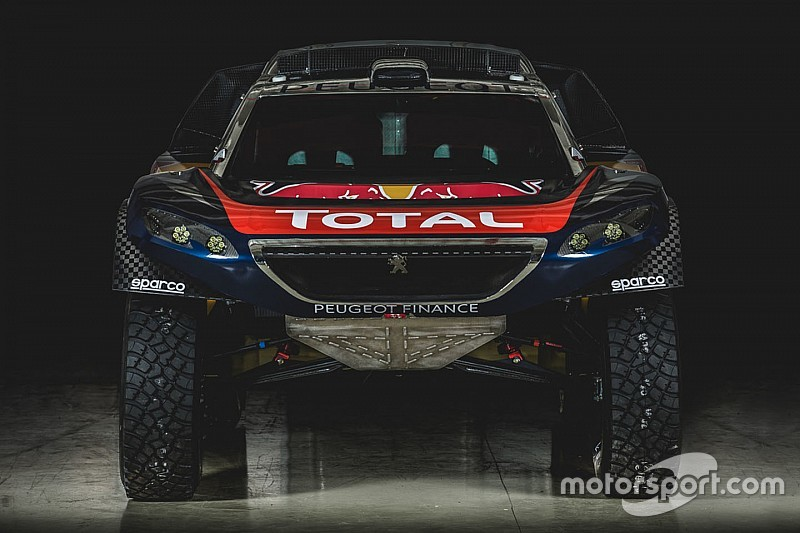 So fährt Sebastien Loeb bei der Rallye Dakar 2016