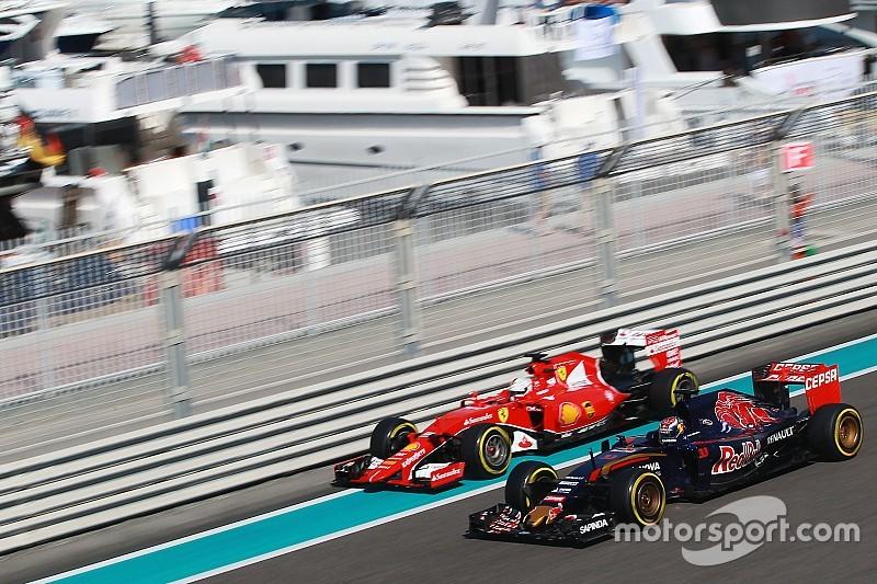 Toro Rosso officialise son accord moteur avec Ferrari