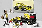 Cartunista indaga: é Renault ou a nova Lotus?
