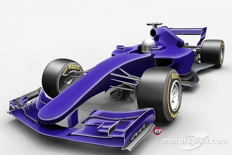 """Primer vistazo a los autos """"más rápidos de la historia"""" para la F1 2017"""
