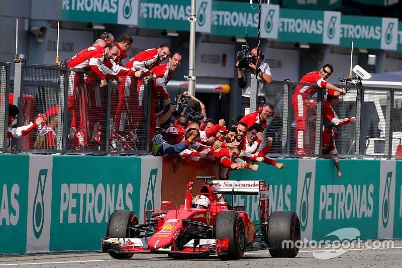 Bilan 2015 - Vettel a remis le pied à l'étrier avec le Cheval Cabré