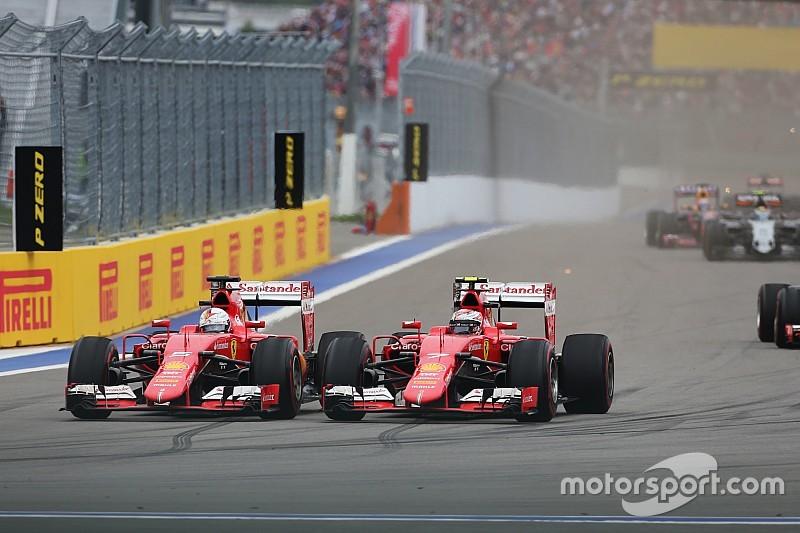 """Kimi faz Vettel """"trabalhar por seu dinheiro"""", diz ferrarista"""