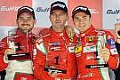 Davide Rigon si gode la vittoria di Abu Dhabi