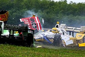 IndyCar Diaporama Rétro 2015 - La victoire de James Hinchcliffe, le fiasco de la Nouvelle-Orléans
