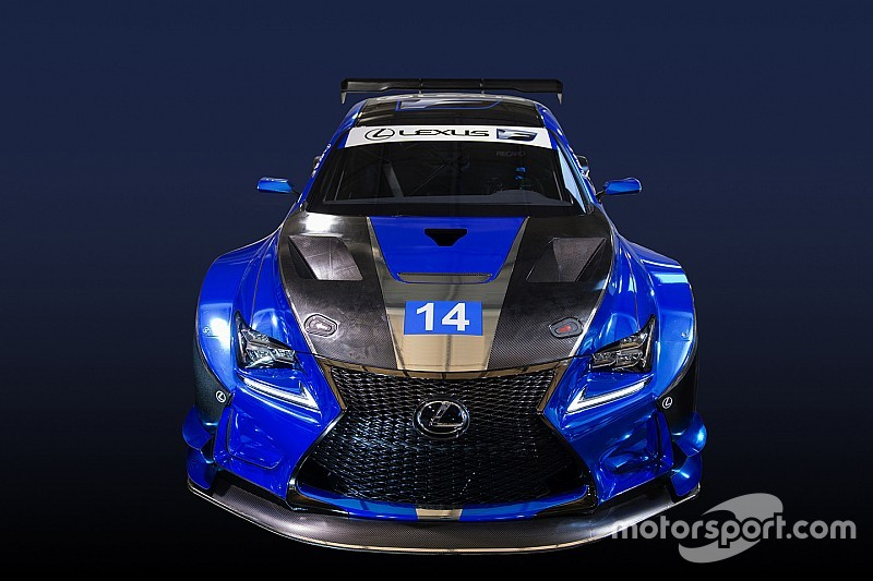 Pruett aims for podium in Lexus RC F's development season