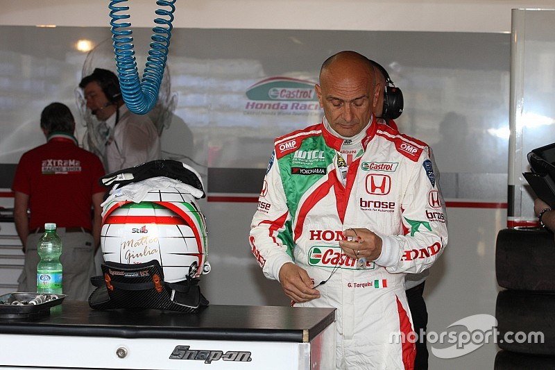 Honda et Gabriele Tarquini se séparent!