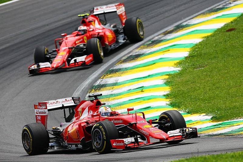 Macht Kimi Räikkönen 2016 den Wasserträger für Sebastian Vettel?