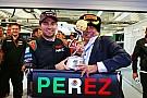La temporada de Sergio Pérez en imágenes
