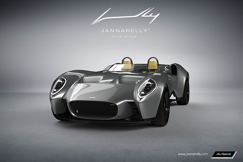 Eigenzinnige Jannarelly Design-1 krijgt 304 pk sterke V6 van Nissan
