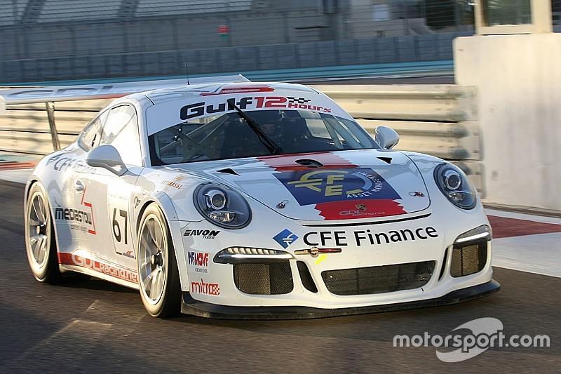 Il team GDL Racing al via della 24 Ore di Dubai