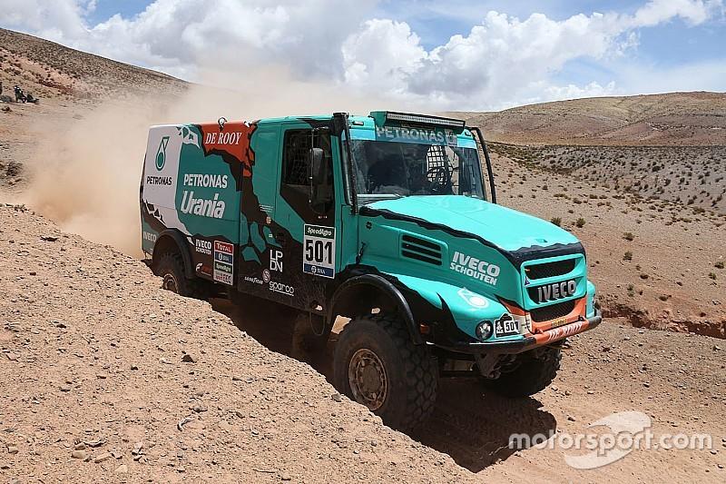 """Dakar, De Rooy: """"In altura la potenza cala del 40%!"""""""