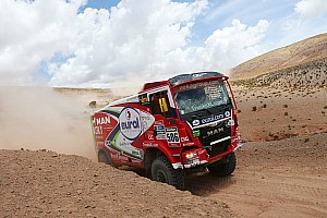 Dakar Stage report Dakar Trucks, Stage 6: Stacey regains lead with second stage win