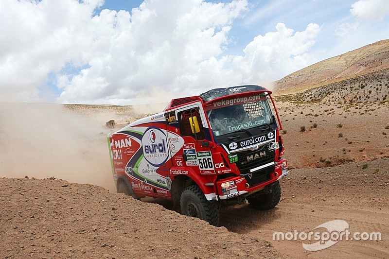 Dakar Trucks, Stage 6: Stacey regains lead with second stage win