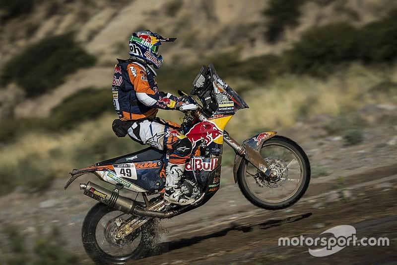 Dakar, Moto, Tappa 7: primo acuto di Antoine Méo