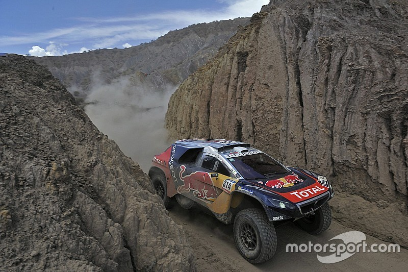 Dakar Cars, Stage 7: Sainz sets pace, Loeb reclaims lead