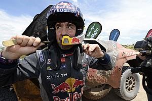 Dakar Breaking news Furious Peterhansel was