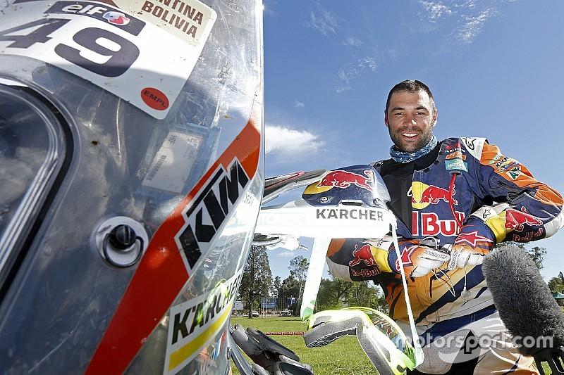 Antoine Meo su meta el podio del Dakar