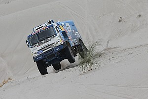 Dakar Tappa Dakar, Camion, Tappa 11: Nikolaev non sorprende De Rooy