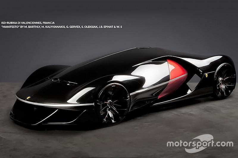 Zo ziet de Ferrari van 2040 eruit + video