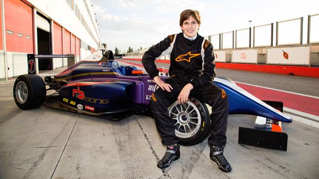 Sebastian Fernandez primo pilota della RB Racing