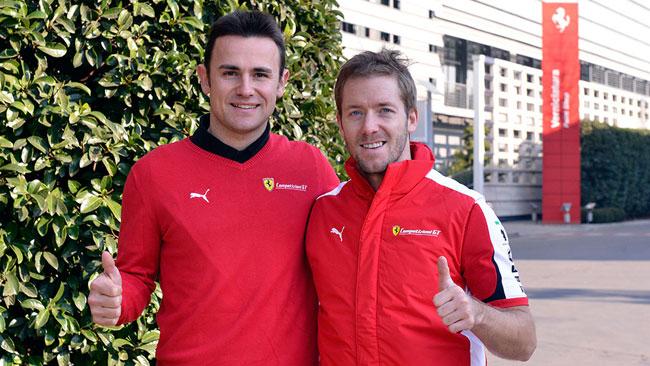 Primo giorno in Ferrari per Sam Bird