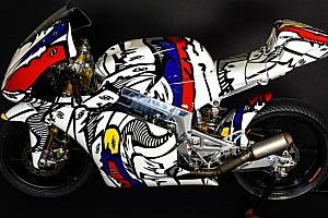 CIV Moto3 Ultime notizie La Kymco-Oral Moto3 diventa un'opera d'arte