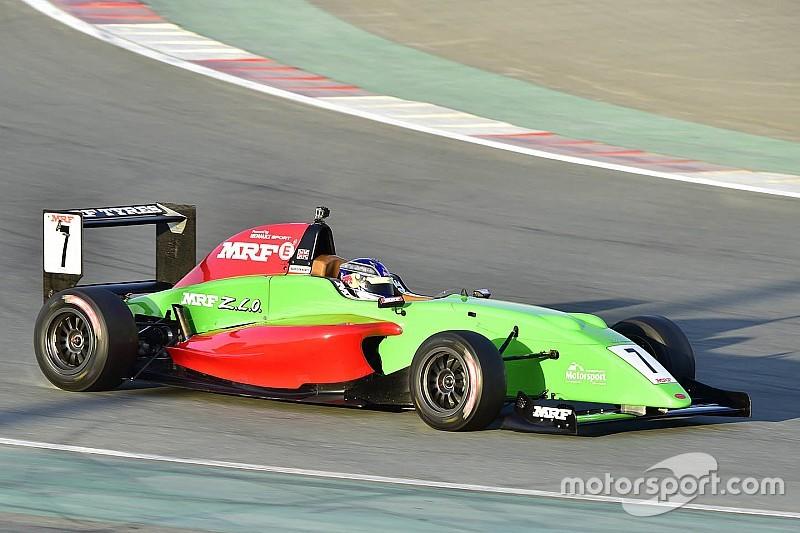 Chennai MRF Challenge: Newey tops first practice, Schumacher fourth