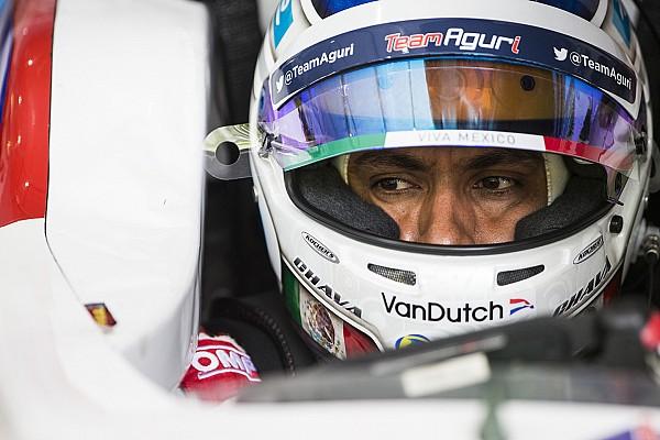 Formula E Durán no tuvo el regreso que deseaba