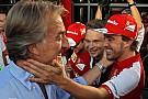 """Montezemolo: Alonso foi """"desmotivador"""" na Ferrari em 2014"""