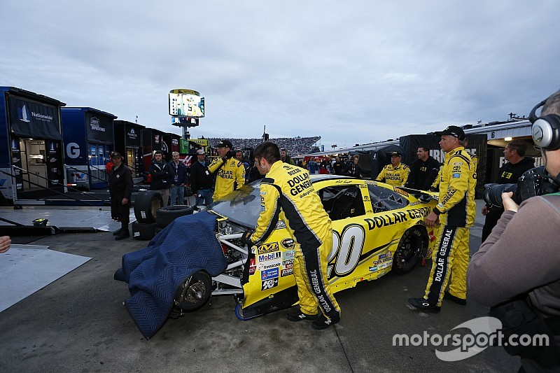 NASCAR updates behavioral penalties for all three national series
