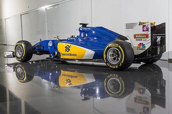 La Sauber rivela a sorpresa la livrea 2016