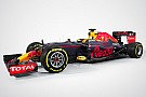 Red Bull presentó el RB12