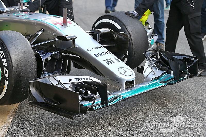 Mercedes revela su nueva y radical nariz