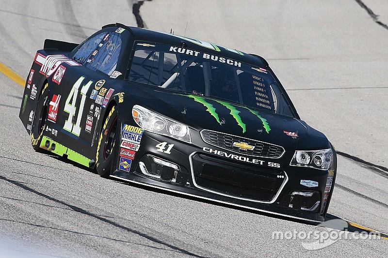 Kurt Busch hereda la pole position en Atlanta