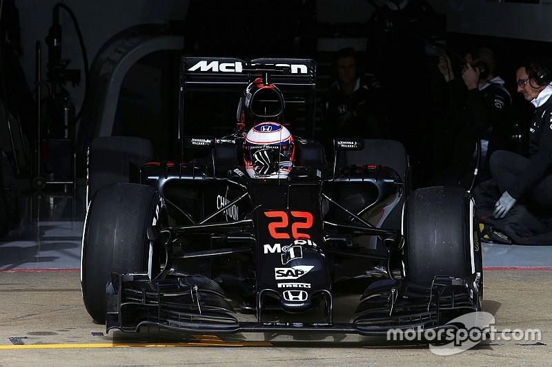 McLaren провела съемочный день