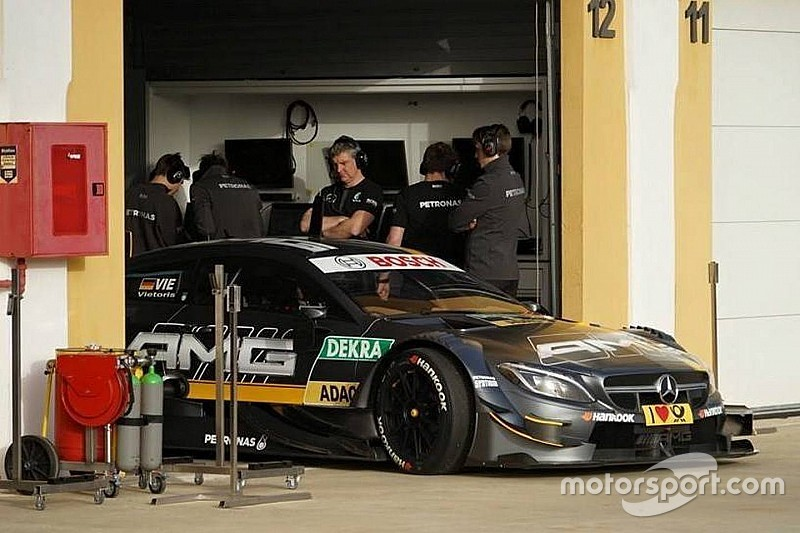 Der DTM-Test in Monteblanco in Bildern