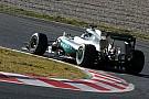 Rosberg meteen snel op zachte banden, productieve Verstappen