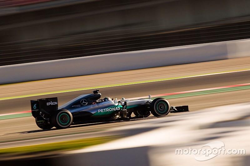 Rosberg é o mais rápido da terça-feira em Barcelona