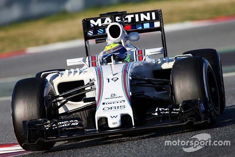 Williams не отказывалась от цели догнать Mercedes, уверяет Масса