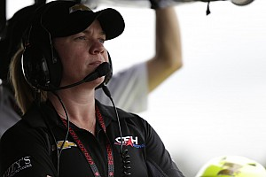 IndyCar Breaking news Sarah Fisher named official pace car driver for 2016 IndyCar season