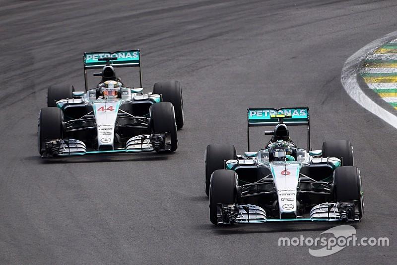 梅赛德斯2016赛季给两位车手更多自由