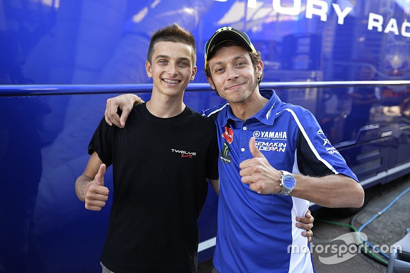 "Luca Marini: ""Being Valentino's half-brother helps me a lot"""